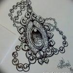 фото Эскизы тату оберегов от 17.02.2018 №035 - Sketches of tattoo amulets - tatufoto.com