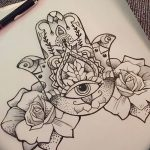 фото Эскизы тату оберегов от 17.02.2018 №038 - Sketches of tattoo amulets - tatufoto.com