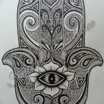 фото Эскизы тату оберегов от 17.02.2018 №044 - Sketches of tattoo amulets - tatufoto.com