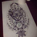 фото Эскизы тату оберегов от 17.02.2018 №063 - Sketches of tattoo amulets - tatufoto.com