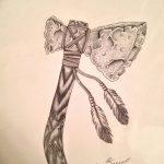 фото Эскизы тату оберегов от 17.02.2018 №076 - Sketches of tattoo amulets - tatufoto.com