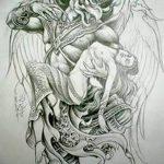фото Эскизы тату оберегов от 17.02.2018 №078 - Sketches of tattoo amulets - tatufoto.com