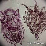 фото Эскизы тату оберегов от 17.02.2018 №086 - Sketches of tattoo amulets - tatufoto.com