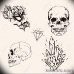 фото Эскизы тату оберегов от 17.02.2018 №118 - Sketches of tattoo amulets - tatufoto.com 3463453734545