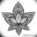 Lotus Tattoo Sign