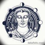 фото Эскизы тату оберегов от 17.02.2018 №141 - Sketches of tattoo amulets - tatufoto.com