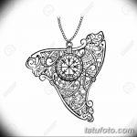 фото Эскизы тату оберегов от 17.02.2018 №141 - Sketches of tattoo amulets - tatufoto.com 36345367