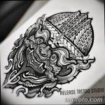 фото Эскизы тату оберегов от 17.02.2018 №154 - Sketches of tattoo amulets - tatufoto.com