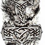 фото Эскизы тату оберегов от 17.02.2018 №173 - Sketches of tattoo amulets - tatufoto.com