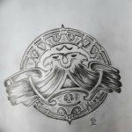 фото Эскизы тату оберегов от 17.02.2018 №174 - Sketches of tattoo amulets - tatufoto.com