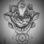 фото Эскизы тату оберегов от 17.02.2018 №180 - Sketches of tattoo amulets - tatufoto.com