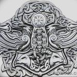 фото Эскизы тату оберегов от 17.02.2018 №185 - Sketches of tattoo amulets - tatufoto.com