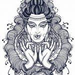фото Эскизы тату оберегов от 17.02.2018 №214 - Sketches of tattoo amulets - tatufoto.com