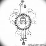 фото Эскизы тату оберегов от 17.02.2018 №221 - Sketches of tattoo amulets - tatufoto.com