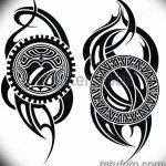 фото Эскизы тату оберегов от 17.02.2018 №234 - Sketches of tattoo amulets - tatufoto.com