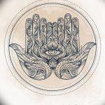 фото Эскизы тату оберегов от 17.02.2018 №238 - Sketches of tattoo amulets - tatufoto.com