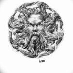 фото Эскизы тату оберегов от 17.02.2018 №271 - Sketches of tattoo amulets - tatufoto.com