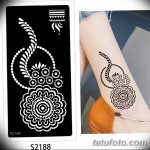 фото рисунки хной на теле от 12.02.2018 №001 - drawings of henna on - tatufoto.com