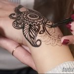 фото рисунки хной на теле от 12.02.2018 №008 - drawings of henna on - tatufoto.com