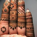 фото рисунки хной на теле от 12.02.2018 №084 - drawings of henna on - tatufoto.com