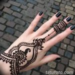фото рисунки хной на теле от 12.02.2018 №138 - drawings of henna on - tatufoto.com