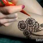 фото рисунки хной на теле от 12.02.2018 №148 - drawings of henna on - tatufoto.com