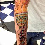 фото рисунок тату факел от 07.02.2018 №002 - torch tattoo - tatufoto.com