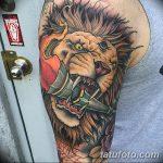 фото рисунок тату факел от 07.02.2018 №014 - torch tattoo - tatufoto.com