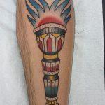 фото рисунок тату факел от 07.02.2018 №025 - torch tattoo - tatufoto.com