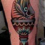 фото рисунок тату факел от 07.02.2018 №036 - torch tattoo - tatufoto.com
