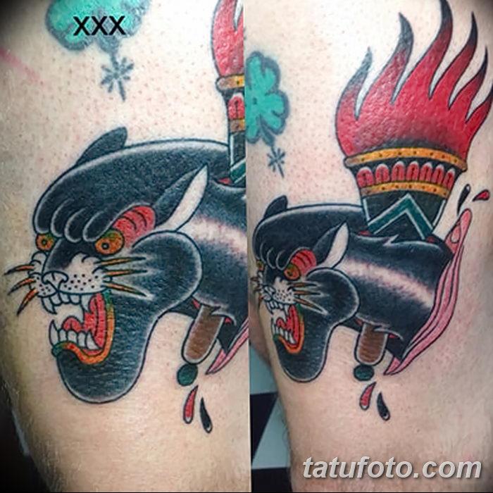 фото рисунок тату факел от 07.02.2018 №041 - torch tattoo - tatufoto.com