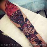 фото рисунок тату факел от 07.02.2018 №042 - torch tattoo - tatufoto.com