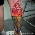 фото рисунок тату факел от 07.02.2018 №085 - torch tattoo - tatufoto.com