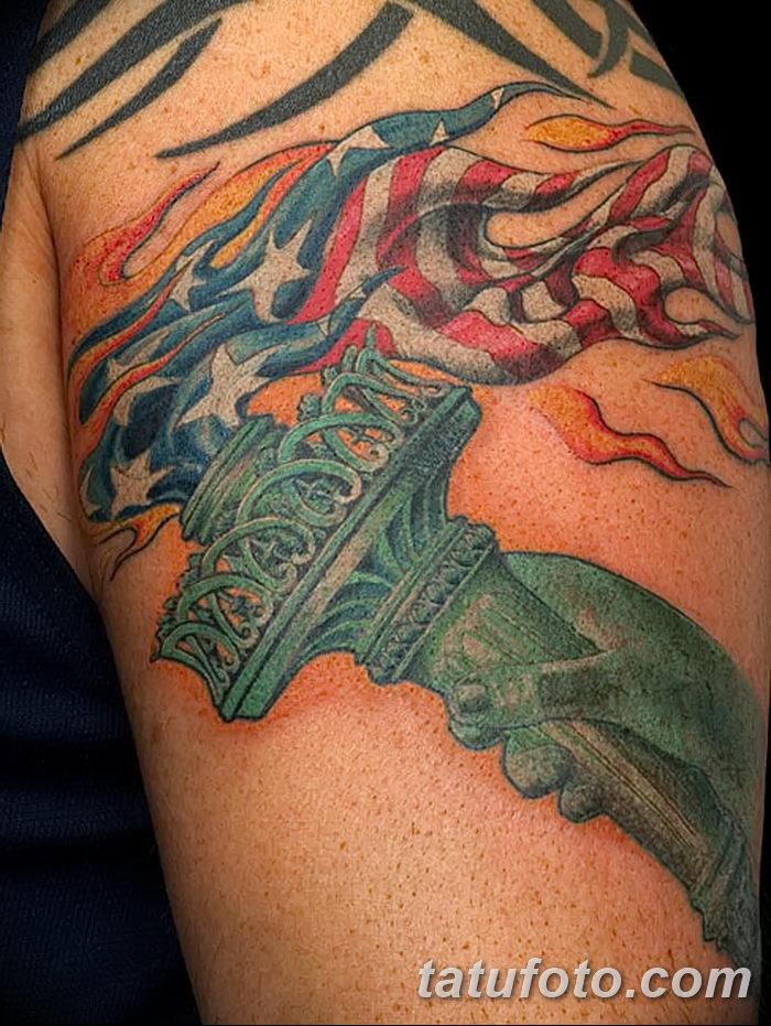 фото рисунок тату факел от 07.02.2018 №089 - torch tattoo - tatufoto.com