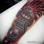 фото рисунок тату факел от 07.02.2018 №096 - torch tattoo - tatufoto.com