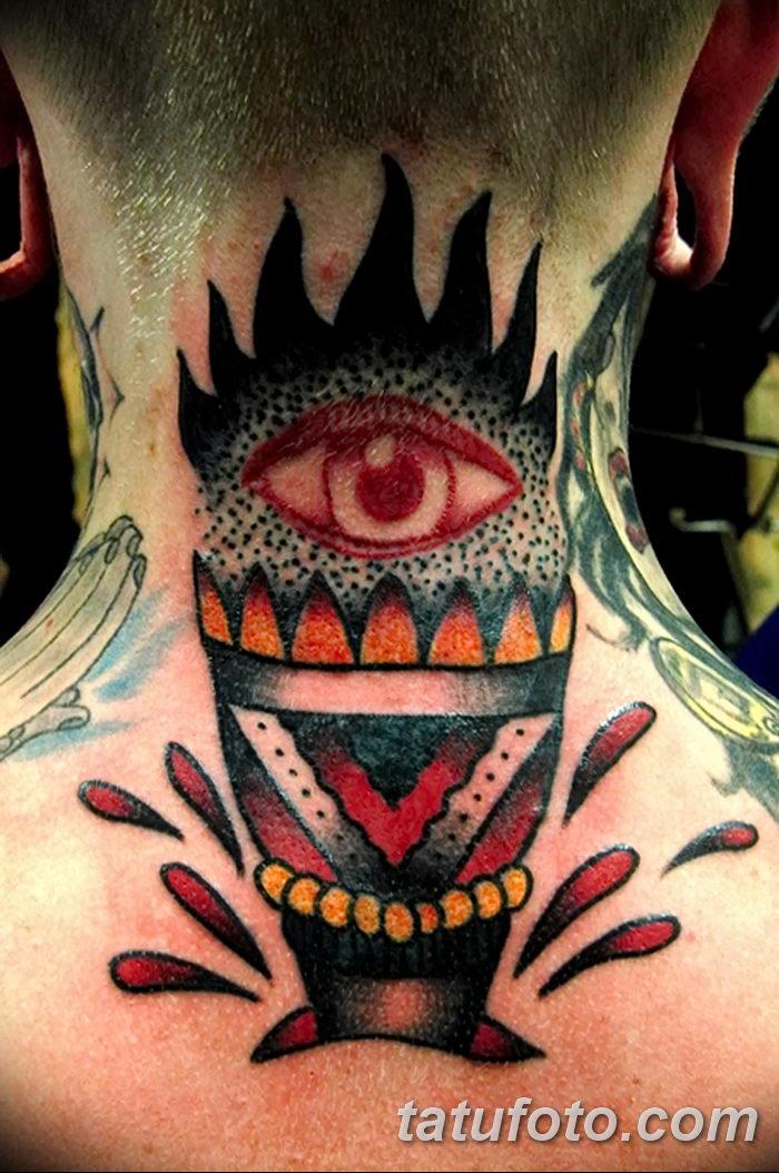 фото рисунок тату факел от 07.02.2018 №097 - torch tattoo - tatufoto.com