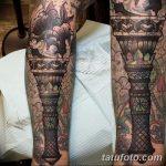 фото рисунок тату факел от 07.02.2018 №103 - torch tattoo - tatufoto.com