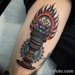 фото рисунок тату факел от 07.02.2018 №108 - torch tattoo - tatufoto.com