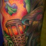 фото рисунок тату факел от 07.02.2018 №109 - torch tattoo - tatufoto.com