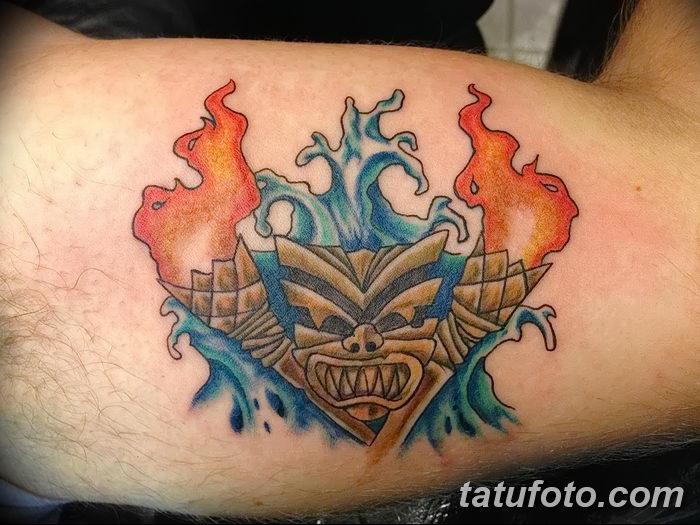 фото рисунок тату факел от 07.02.2018 №111 - torch tattoo - tatufoto.com