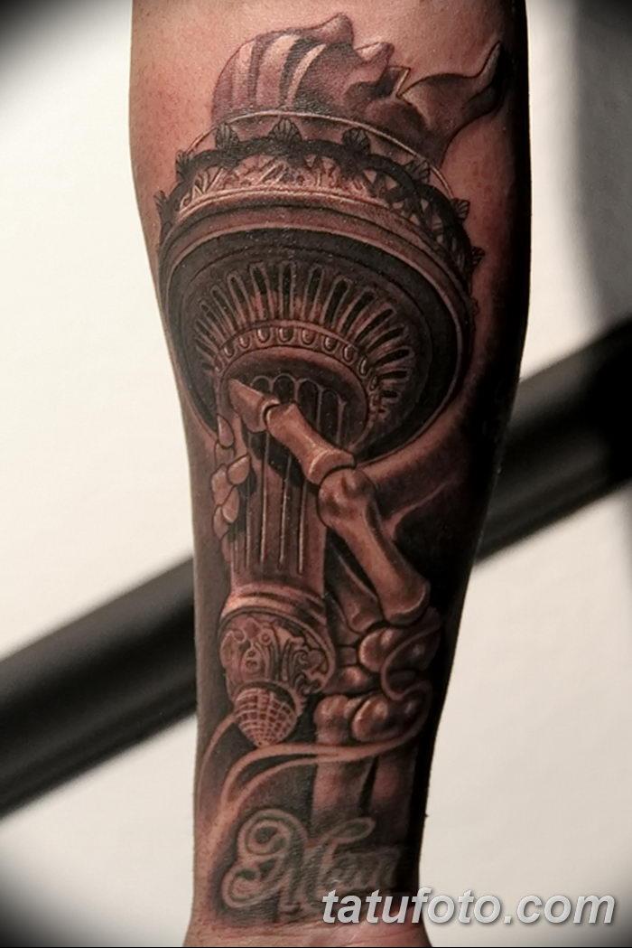фото рисунок тату факел от 07.02.2018 №113 - torch tattoo - tatufoto.com
