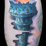фото рисунок тату факел от 07.02.2018 №114 - torch tattoo - tatufoto.com