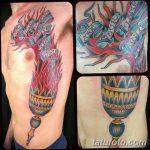 фото рисунок тату факел от 07.02.2018 №116 - torch tattoo - tatufoto.com