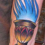 фото рисунок тату факел от 07.02.2018 №129 - torch tattoo - tatufoto.com