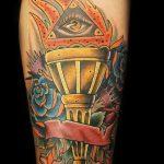 фото рисунок тату факел от 07.02.2018 №135 - torch tattoo - tatufoto.com