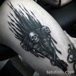 фото рисунок тату факел от 07.02.2018 №138 - torch tattoo - tatufoto.com