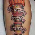 фото рисунок тату факел от 07.02.2018 №142 - torch tattoo - tatufoto.com