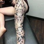 фото рисунок тату факел от 07.02.2018 №149 - torch tattoo - tatufoto.com