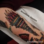 фото рисунок тату факел от 07.02.2018 №154 - torch tattoo - tatufoto.com