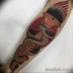 фото рисунок тату факел от 07.02.2018 №160 - torch tattoo - tatufoto.com